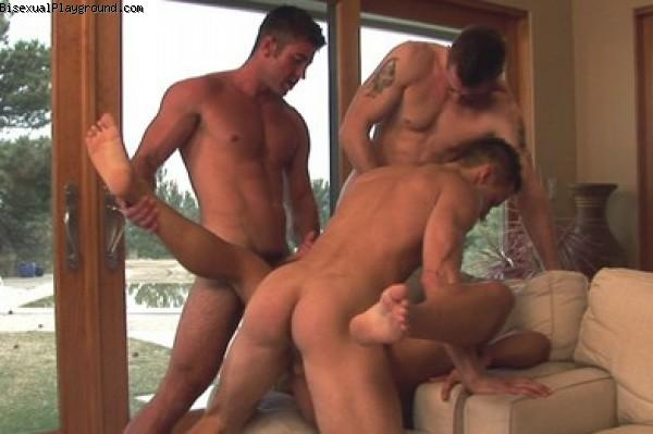 All Male on Bisexual Playground
