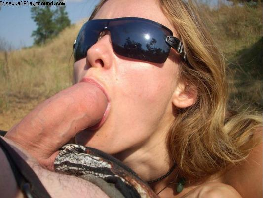 Outdoor Sex on Bisexual Playground
