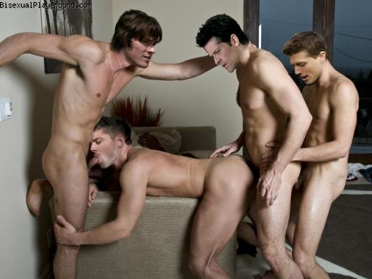 Foursomes on Bisexual Playground