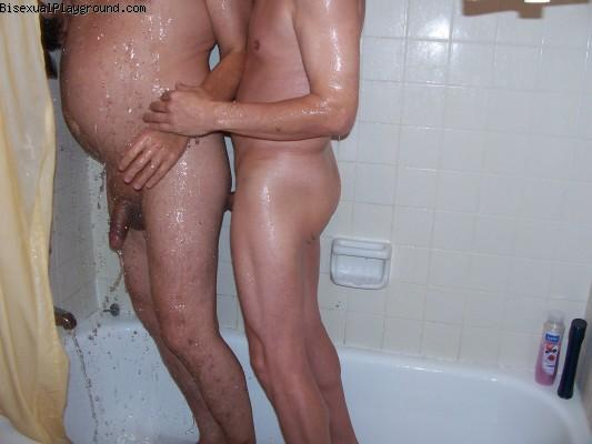 Shared Showers on Bisexual Playground