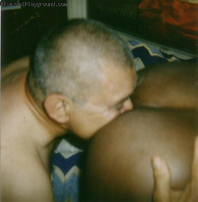 African American on Bisexual Playground