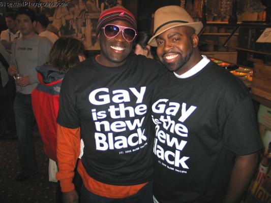 Gay Black Guys on Bisexual Playground