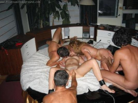 Bisexual Orgy on Bisexual Playground