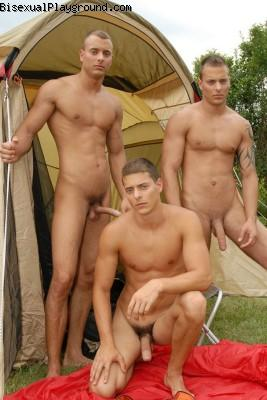 Nude Camping on Bisexual Playground